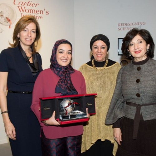 Mouna Abbasy, lauréate du Cartier Women's Initiative Award 2015