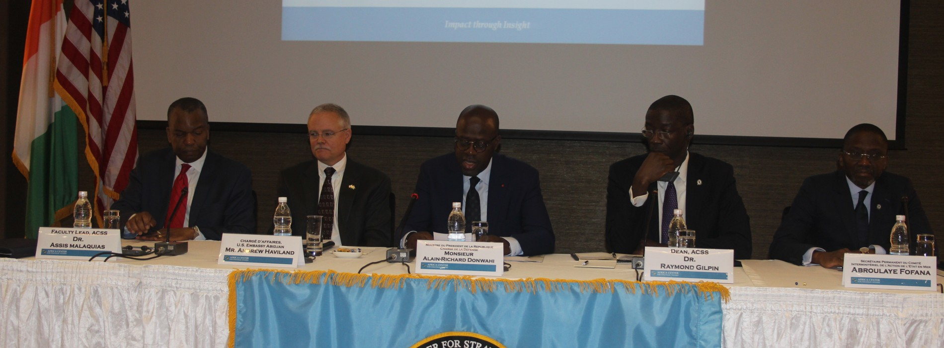 Ivory Coast: African and US Experts on Maritime Safety