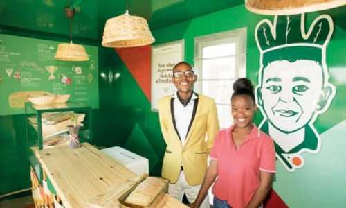 Lufefe Nomjana makes fortune from spinach