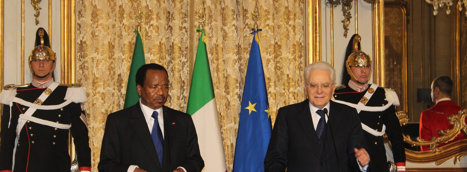"Cooperation: ""For Italy, Cameroon is a priority partner"""