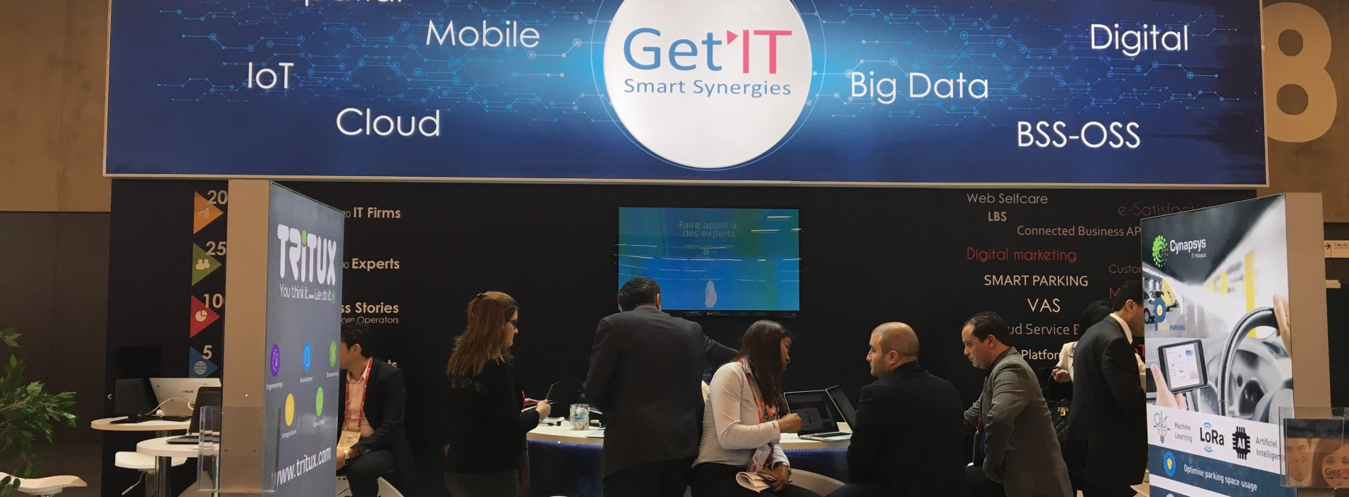North African companies at the Barcelona MWC