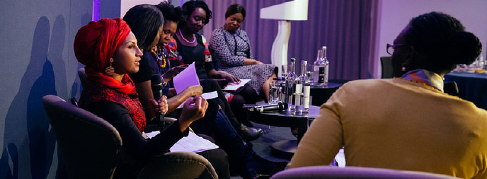 """New African Woman, more than a forum, is the new annual meeting of African women's leadership"" – Leila Ben Hassen"