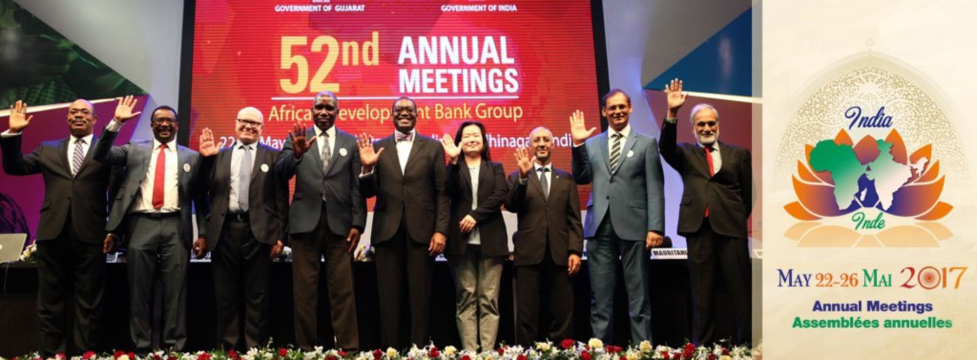 "52nd ADB Annual Meetings: a single slogan: ""Feed Africa!"""