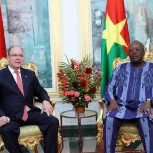 Prince Albert in Ouagadougou: FCFA 3 billion invested