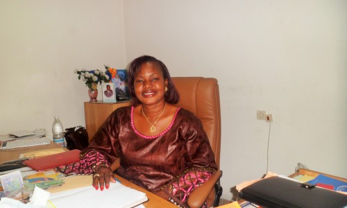 Michelle Kouao, the female face of the Ivorian road transport