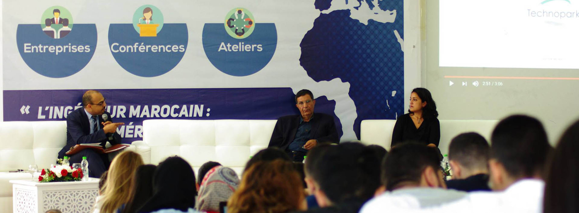 Morocco Engineers discuss their future in Tangier
