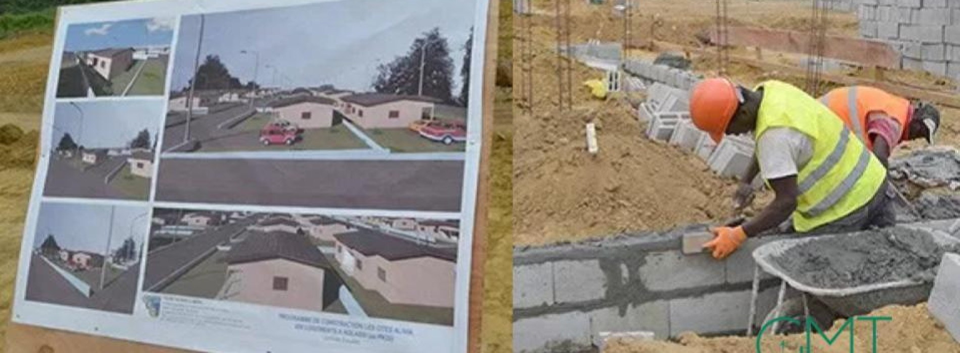 Gabon 5.2 million euros in the construction of social houses