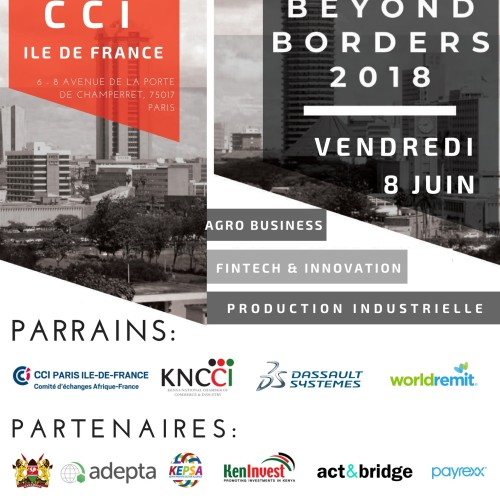 Kenya-France Business Club (KFBC) Deuxième édition du Business Beyond Borders à Paris le 8 juin